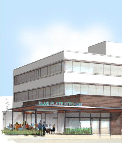 Blue Plate Kitchen will open in late 2013.